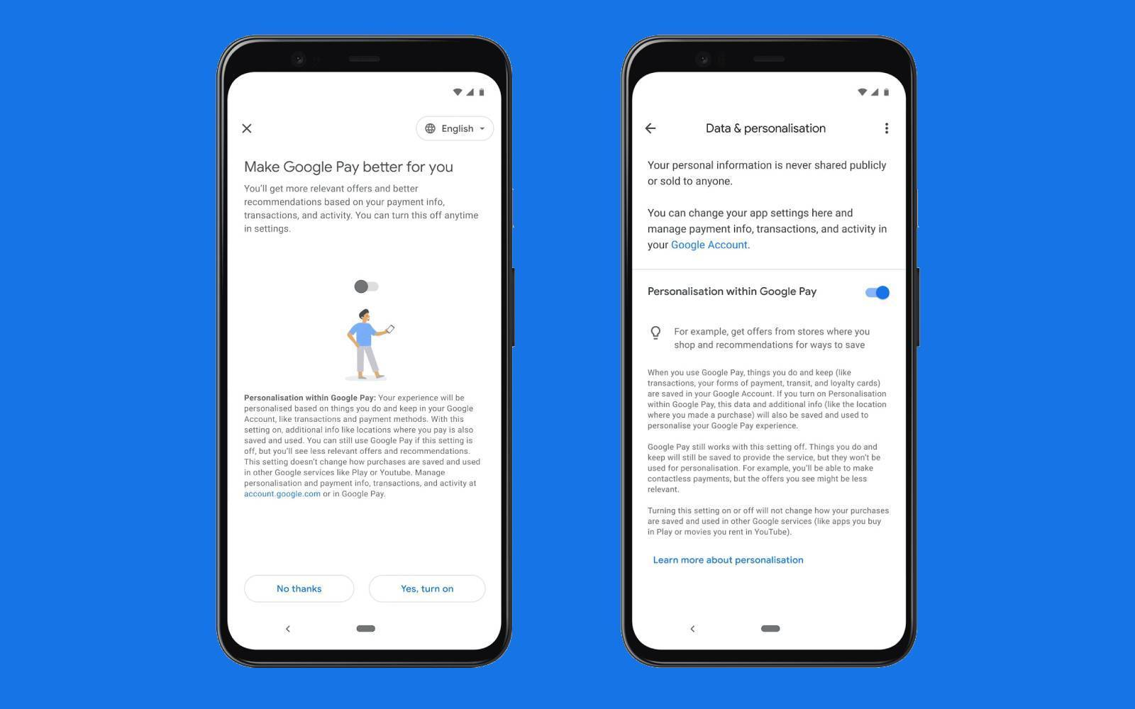 User data: How money should be made with Google Pay in the future