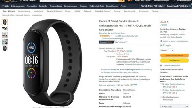 Xiaomi Mi Band 5 reduced to just 20.65 euros on Amazon!